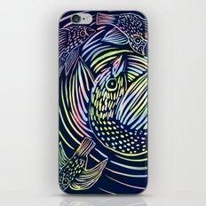 Bird swirl iPhone & iPod Skin