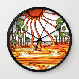 Liquid Star Wall Clock