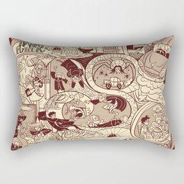 HP Inspired Chamber of Secrets Rectangular Pillow