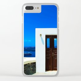 Door in the paradise Clear iPhone Case