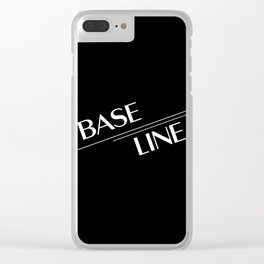 BTS J-Hope Baseline Clear iPhone Case