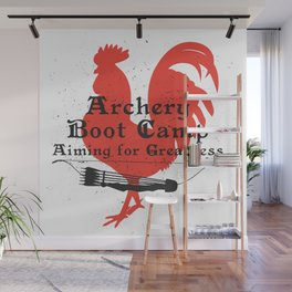 Archery Boot Camp >>-----> Aiming for Greatness Wall Mural