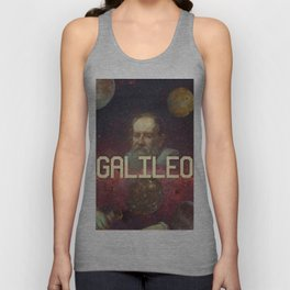 Visions of Galileo Unisex Tank Top