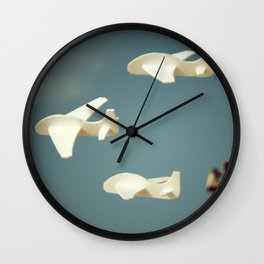 Avioncitos//Little planes Wall Clock