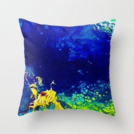 Spectraness of Outerspace Throw Pillow