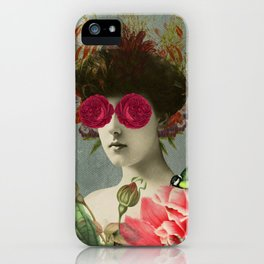 the only girl i ever loved was born with roses in her eyes. iPhone Case