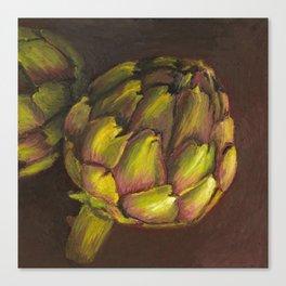 Artichoke Canvas Print