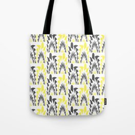 Tricolored geometric pattern Tote Bag