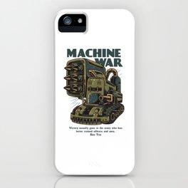 Steampunk Machine War iPhone Case