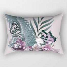 Tropical Girl 3 Rectangular Pillow