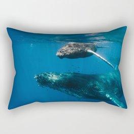 Maui Humpbacks Rectangular Pillow