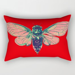 17 Year Cicada Rectangular Pillow