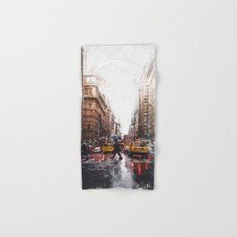 New York Streets Hand & Bath Towel