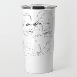 Holding together Travel Mug