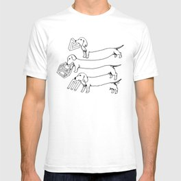 Escher's Other Dogs T-shirt