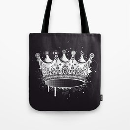 Crown in graffiti style Tote Bag