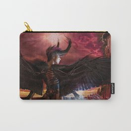 Dark Angel by BAXA Carry-All Pouch