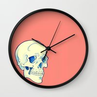 mortal instruments Wall Clocks featuring Mortal Colors by Tweedles
