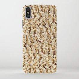 Instant Ramen Noodle Pattern iPhone Case