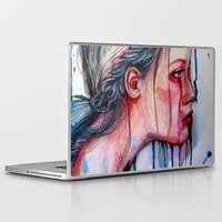 agnes cecile Laptop & iPad Skins featuring The Redemption of Agnes McFee (VIDEO IN DESCRIPTION!) by Olga Noes
