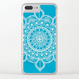 Beautiful Imperfection Clear iPhone Case
