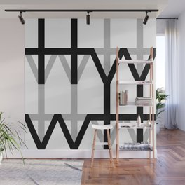 Hana and Wind logo's collection  Wall Mural