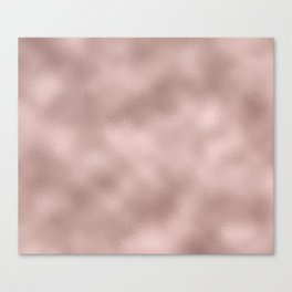 Rose gold - Smooth Champagne Pink Canvas Print
