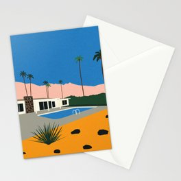 Palm Springs Bungalow Stationery Cards