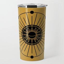 Royal Art Deco Sun Travel Mug