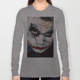 Heath Ledger, The Joker Long Sleeve T-shirt