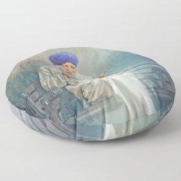 Hiding In Plain Sight Floor Pillow