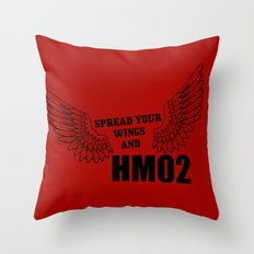 Spread your wings and HM02 Throw Pillow