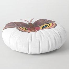 io moth (Automeris io) female specimen 1 Floor Pillow