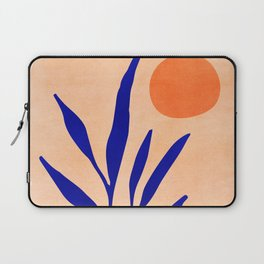 Golden Afternoon II / Abstract Landscape Laptop Sleeve