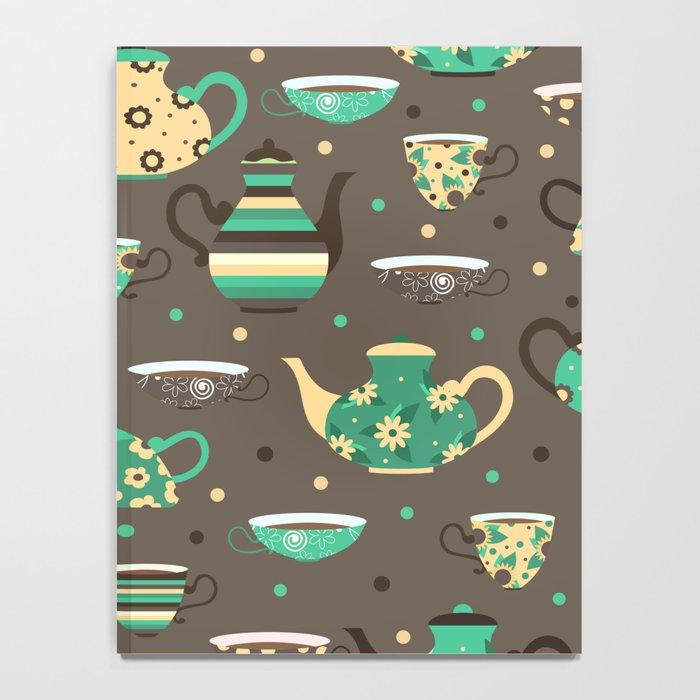 Tea pattern. Notebook