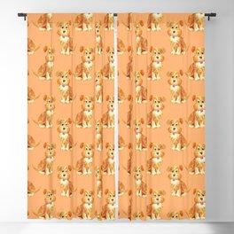 cute dog pattern Blackout Curtain
