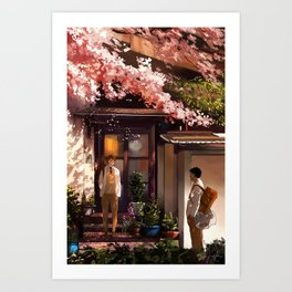 Quiet Moments Art Print