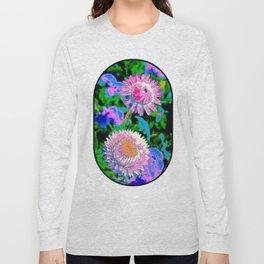Digital Flowers Long Sleeve T-shirt