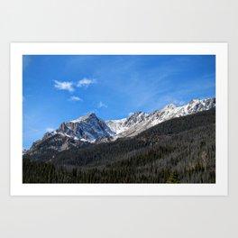 Boulder Lake Art Print