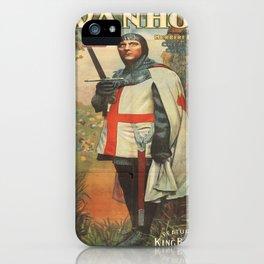 Vintage poster - Ivanhoe iPhone Case