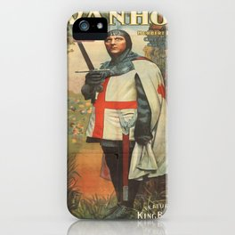 Vintage poster - Ivanhoe iPhone Case