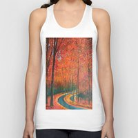 eugenia loli Tank Tops featuring Beautiful colors of Autumn by maggs326