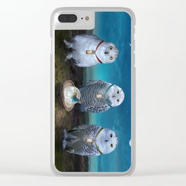 Light Sentinels Clear iPhone Case