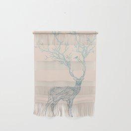 Blue Deer Wall Hanging