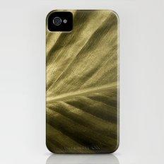 'Golden Leaf' Slim Case iPhone (4, 4s)