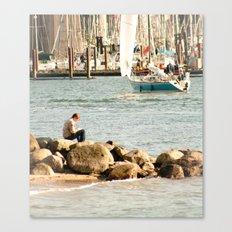 Sea Side  Canvas Print