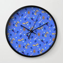 Sailor Uranus Pattern / Sailor Moon Wall Clock