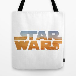 The Desert Planet of Jakku Tote Bag