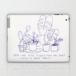 worry plants Laptop & iPad Skin