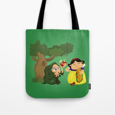 Snow White (witch) Tote Bag
